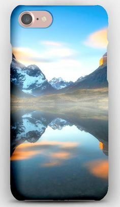 iPhone 7 Case South america, Chile, Patagonia, Andes mountains, Reflection