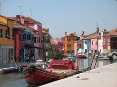Burrano, Italy.  A must see if you go to Venice.  Don't miss Venice if you go to Italy.