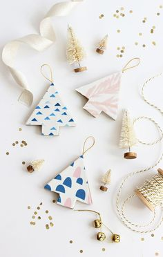 Our latest Minted blog post is as simple as it gets! Learn how to make these fabric covered ornaments using fabric and cardboard ornaments you find at the craft store. These would make sweet gift toppers for holiday gifts too. Just think of the possibilities! Head over to Minted's blog, Julep for the full DIY …