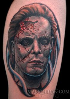 Michael Myers tat