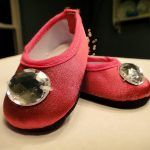 American Girl Slippers for PJ's or Any Outfit!! {FREE PATTERN}