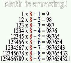 Math is amazing