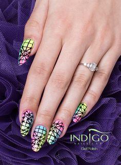 Gel Polish  Find more Inspiration at www.indigo-nails.com #Nails #Polish #Mani