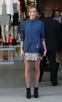 Kate Bosworth - Topshop Topman British Street Party To Celebrate The LA Opening Moment - Arrivals