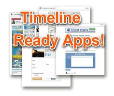 25 Timeline Ready Apps for Enhancing Your Facebook Page (wchingya)