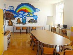 FAVOR's Centrul Curcubeu offering educational solutions for impoverished village children Foundation, Kids Rugs, Rainbow, Education, Children, Home Decor, Rain Bow, Young Children, Rainbows