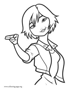 GoGo is a member of the superhero team, Big Hero 6. Enjoy this amazing printable Disney coloring page and have fun!