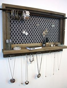 15 x 24 Jewelry Organizer Jewelry Holder Home