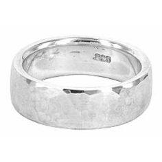 CIS032a, sebastian cilento, hammered finish ring in sterling silver.jpg