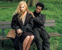 Lara Stone, Mark Miller by Bruce Weber for The New York Times T Style Magazine Fall 2014 by Joe McKenna