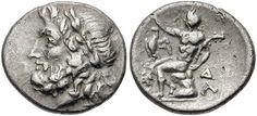 Arkadia, Megalopolis - Ancient Greek Coins - WildWinds.com