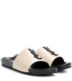 Saint Laurent Joan 05 Leather Sandals For Spring-Summer 2017