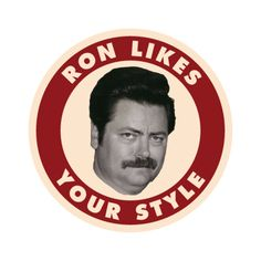 Oh Mr. Swanson you are one heck of a man...