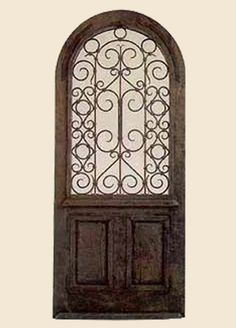 hacienda Style gate to my secret garden someday I want to have