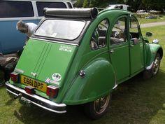 Vintage in green!