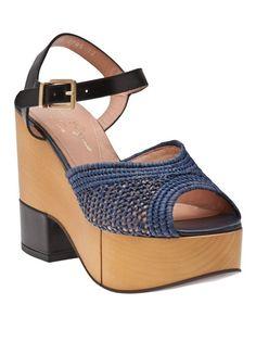 Robert Clergerie Raffia Sandal - Hu'S Shoes - farfetch.com