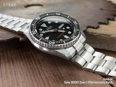 22mm SUPER 3D OYSTER bracelet for Seiko SKX007