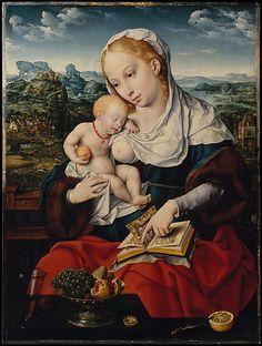 JOOS VAN CLEVE VIRGEN DE LA LECHE 1525
