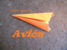 Origami - Papiroflexia. Tutorial: Avión, muy muy fácil