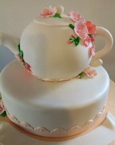 Tea pot kitchen tea cake