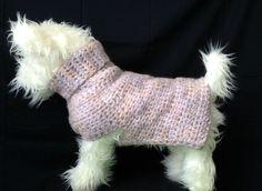Amethyst Ambrosia, Wool Dog Sweater, purple dog sweaters, Knit Dog Sweater, small dog sweater, dog sweaters, dog sweater, dog clothes