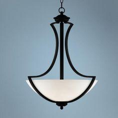 "Possini Euro Milbury 19 1/2"" Wide Dark Bronze Pendant Light - #V7498 | LampsPlus.com"