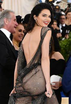 Kendall Nicole Jenner Fashion Style — May 1, 2017 - 2017 MET Gala at The Metropolitan...