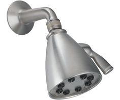 "8 Jet Showerhead Kit - 1/2"" FIP inlet 4"" one piece shower arm - SH-01 8 jet showerhead - SH-05max flow rate 2.5 gpm"