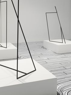 Nendo, thin black lines_dancing squares 11