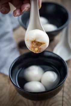 Peanut dumplings (Peanut Tang Yuan)   Chinasichuanfood.com