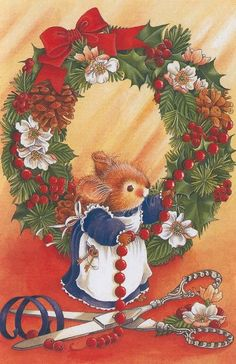 Little mouse christmas day... Beautiful #christmas screen savers www.fabuloussavers.com/christmasscreensavers.shtml Thank you for viewing!