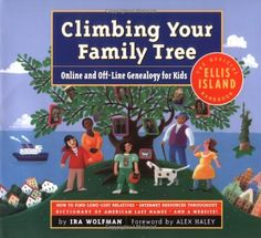 Climbing Your Family Tree : Online and off-Line Genealogy for Kids by Ira Wolfman,http://www.amazon.com/dp/0761125396/ref=cm_sw_r_pi_dp_vwfntb1TXATGX67B