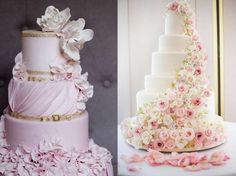 Wedding cake of petals - From Italy