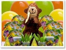 This site has all of the following laid out for planning a Jungle Themed Party:  Party Planning and Supplies  Decorating and Menu Ideas  Games, Activities, and Crafts