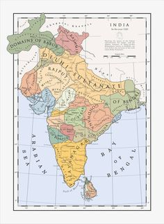 India in 1525 - Before the Tiger's Leap by Milites-Atterdag on DeviantArt
