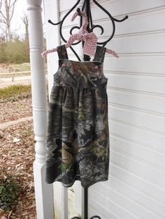 Toddler Mossy OAK Camo Dress Size 3 by JBCountryCouture on Etsy, $45.00