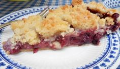 Kitty's Kozy Kitchen: Dutch Blueberry Apple Pie with Sugar Cookie Crumble (NTS: see note at bottom of recipe re: crumble)