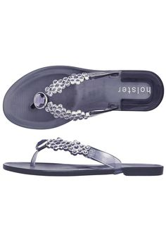 Bloom flipflop style sandal in 'midnight' from Holster the Worlds No.1 fashion jelly brand.Also great for beach weddings!! Holsters are vegan friendly non-marking odour resistant easy to keep clean and non-sweating they also have arch supports and have been endorsed by Peter Hogg the Australian Olympic physiotherapist for actually being good for your feet.Shoe sizes are UK. UK 3 = US 5; UK 4 = US 6; UK 5 = US 7; UK 6 = US 8; UK 7 = US 9; UK 8 = US 10; UK 9 = US 11 Holster Bloom Sandal by… Shoes Flats Sandals, Flat Sandals, Being Good, Uk 5, Beach Weddings, Vegan Friendly, Keep It Cleaner, Bloom, My Style
