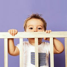 The Top 10 Sleep Mistakes Parents Make: Switching from crib to big-kid bed too soon (via Parents.com)