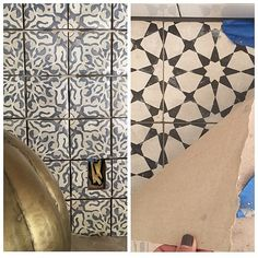 "There's Beautiful Tile Involved: Joanna showed off beautiful tiles in one of the fixer uppers. ""Checking on the tile progress for next week's reveal! Love the details in this home. #seasonthreeiscoming,"" she wrote."