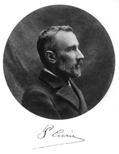 """Pierre Curie Paris (France) May 15 1859 Paris (France) April 19 1906  French physicist, a pioneer in crystallography, magnetism, piezoelectricity and radioactivity. Received in 1903 the Nobel Prize in Physics with his wife, Marie Skłodowska-Curie, and Henri Becquerel, """"in recognition of the extraordinary services they have rendered by their joint researches on the radiation phenomena discovered by Professor Henri Becquerel"""". Died in a street accident in Paris."""