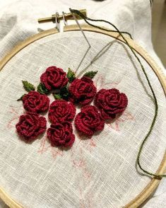 Getting to Know Brazilian Embroidery - Embroidery Patterns Embroidery On Clothes, Embroidery Flowers Pattern, Embroidery Works, Hardanger Embroidery, Learn Embroidery, Rose Embroidery, Silk Ribbon Embroidery, Simple Embroidery, Embroidery Applique