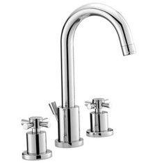 Josie Vanity  Mirabelle MIRWSML800BN Milazzo 8'' Widespread Bathroom Faucet - Brushed Nickel
