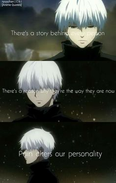 This is really true Sad Anime Quotes, Manga Quotes, Tokyo Ghoul Quotes, Dark Quotes, Anime Life, Badass Quotes, Stupid Funny Memes, In My Feelings, Images