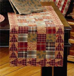 """Shenandoah Runner Patch 13x36"""" by Victorian Heart Company, Inc.. $17.45. All cloth items in our collections are 100% preshrunk cotton. All braided items (like rugs, baskets, etc.) are 100% jute. Product measurements and additional details listed in title and/or Product Description below.. Extensive line of matching items and accessories available! (Search by Collection name). High end quality and workmanship!. See Product Description below for more details!. A patchwork o..."""