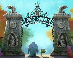 Monsters University Wallpaper