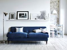 Every sofa needs a footstool at its side. For one more day we're offering a free footstool (worth at least with every sofa purchase. Blue Rooms, House Interior, Home Living Room, Furniture, Home, Best Sofa, Sofa Shelf, Home Decor, Room