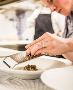 The final touch, Truffle, Cooking, Kitchen KIXX | Strategy & Communication