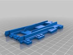 Duplo To Lego City Track Adapter by achimb - Thingiverse