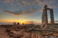 Temple Of Poseidon, Greece.